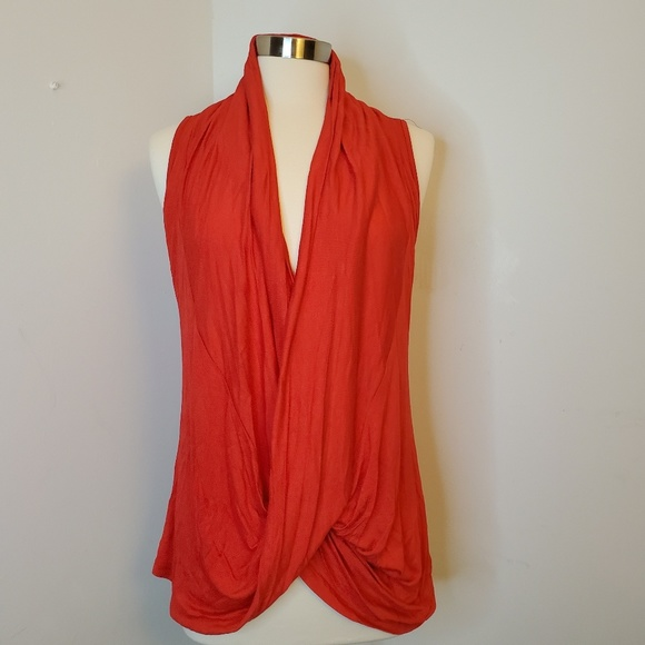Tops - Red Lace Tank